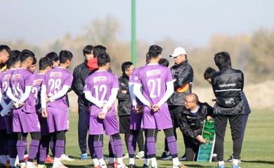 """HLV Park Hang Seo """"ôn bài"""" lần cuối trước trận U23 Việt Nam vs U23 Đài Loan"""