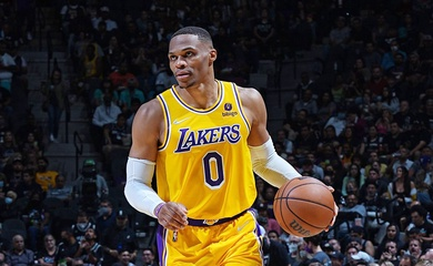 Lakers thắng nghẹt thở trong hiệp phụ: Russell Westbrook và Anthony Davis rực sáng
