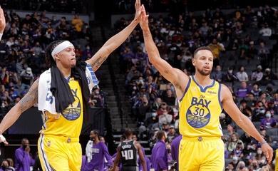 Curry cùng em rể tỏa sáng, Golden State Warriors vững mạch bất bại