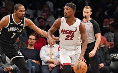 Gục ngã trước lối đánh rắn của Miami Heat, Brooklyn Nets thua trận thứ 3 trong 1 tuần
