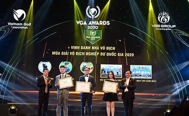 Vinh danh cá nhân, tập thể xuất sắc môn golf tại VGA Awards 2020