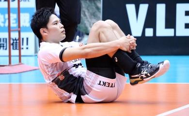 Cập nhật mới nhất về chấn thương của đối chuyền Yuji Nishida