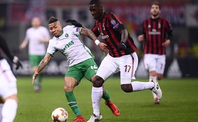 Link xem trực tiếp AC Milan vs Sparta Praha, Europa League 2020