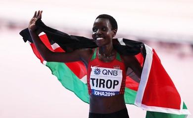 Kỷ lục gia thế giới chạy 10km Agnes Tirop bị đâm chết tại nhà