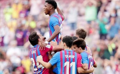 Ansu Fati ghi bàn cho Barca sau 323 ngày với áo số 10