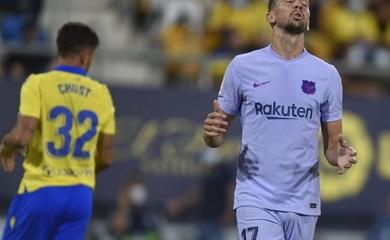 Barca ghi bàn tệ nhất sau gần 2 thập kỷ và nỗi ám ảnh Cadiz
