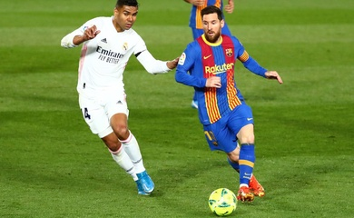 """Xem Messi """"làm xiếc"""" trước Kroos ở trận Siêu kinh điển"""