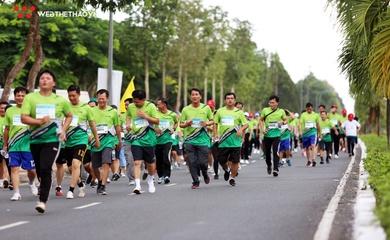 Mekong Delta Marathon 2021 có đường chạy không vòng lặp