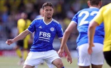 Tuyển thủ Thái Lan sút hỏng penalty ở trận ra mắt Leicester