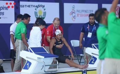 """Đối thủ từng """"đuối nước phải cấp cứu"""" của Ánh Viên ở SEA Games 30 phá kỷ lục quốc gia"""