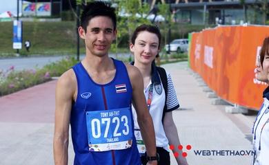 """Ứng viên vàng marathon """"hụt"""" SEA Games 30 lập kỷ lục quốc gia chạy 5km"""