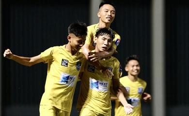 Kết quả U17 SLNA vs U17 Nutifood, video bóng đá U17 Quốc gia 2020