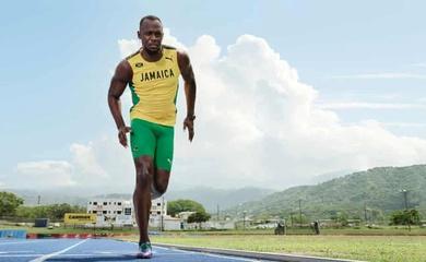 """""""Vua tốc độ"""" Usain Bolt trở lại đường đua với cự ly mới"""