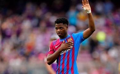 Ansu Fati tái hiện màn tỏa sáng với Barca sau 344 ngày