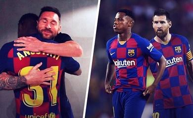 Barca chính thức trao áo số 10 của Messi cho cầu thủ 18 tuổi