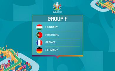Biệt danh của các đội tuyển bảng F tham dự Euro 2021