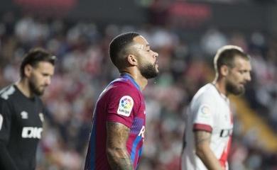 Kết quả Rayo Vallecano vs Barcelona, vòng 11 La Liga