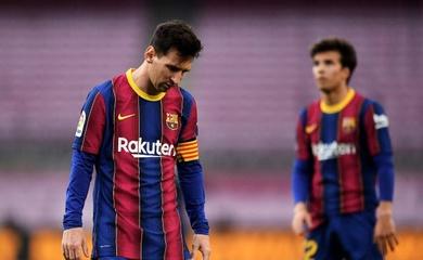 Barca sớm kết thúc La Liga theo kịch bản tệ hại