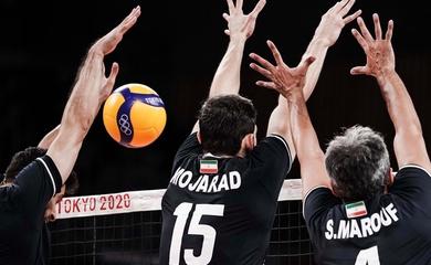 Bóng chuyền nam Mỹ bất ổn, Iran không giữ được mạch thắng tại Olympic