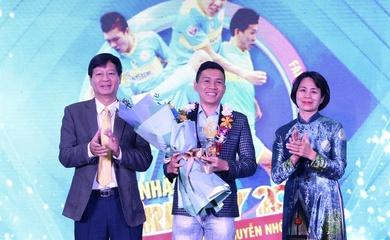 Đánh bại Hùng Dũng, Hồng Duy, cầu thủ Futsal giành giải Fair-play 2020