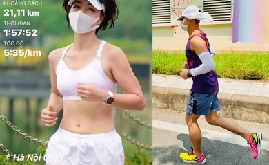 Chạy đeo khẩu trang - Phong cách tập luyện mới mùa dịch COVID-19