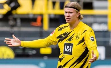"""""""Siêu cò"""" Raiola tiết lộ quyết định của Dortmund về Haaland"""