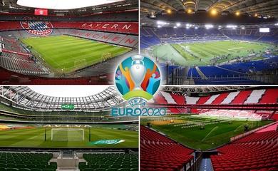 4 thành phố châu Âu có nguy cơ mất quyền đăng cai Euro 2021