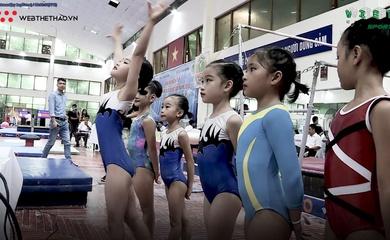Giải VĐ trẻ các nhóm tuổi QG năm 2020 môn thể dục dụng cụ, nhào lộn trên lưới kết thúc thành công giữa mùa dịch