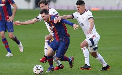 Messi tạo ra bản đồ nhiệt kỳ lạ ở trận thắng Osasuna