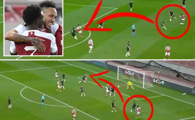 Arsenal thay đổi cuộc chơi bằng 2 pha kiến tạo mãn nhãn
