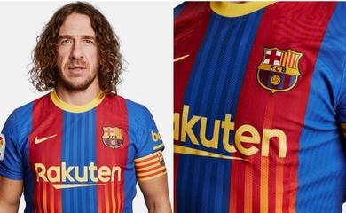 Hình ảnh áo đấu mới của Barca cho trận Siêu kinh điển với Real