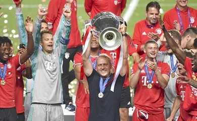 HLV Hansi Flick tạo nên điều không tưởng với Bayern Munich