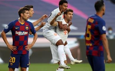 Barca nhiều khả năng tái ngộ Bayern Munich ở vòng 1/8 Champions League