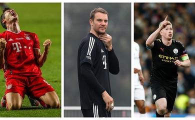 Vắng Messi và Ronaldo, ai sẽ đoạt giải thưởng của UEFA?