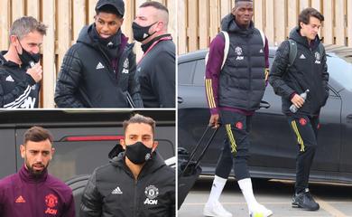 Đội hình MU đến Paris gây ngạc nhiên với Cavani và Maguire