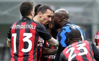 """Ibrahimovic và Lukaku đụng độ """"tóe lửa"""" với thẻ đỏ và treo giò"""