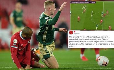 Liverpool nổi giận với VAR khi chịu phạt đền oan uổng