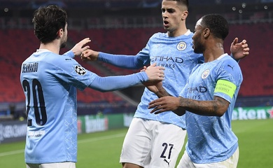 Man City tiến sát tứ kết Champions League với kỷ lục thắng sân khách