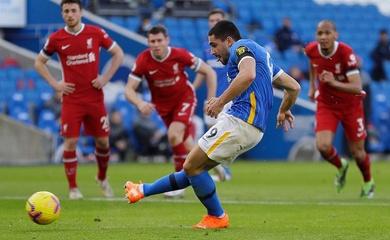 Cầu thủ đen đủi nhất trận Liverpool gặp Brighton