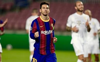 Messi ghi bàn vào lưới đội bóng thứ 36 ở Champions League