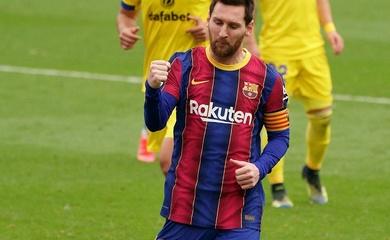 Messi áp sát kỷ lục ghi bàn bằng phạt đền của Ronaldo