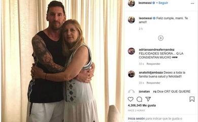 """Bức ảnh của Messi gây bất ngờ và làm """"dậy sóng"""" trên Instagram"""