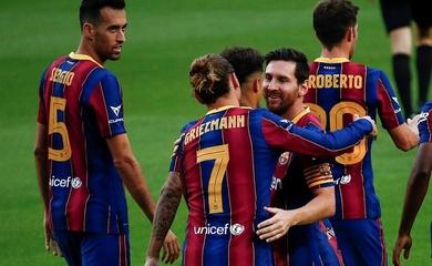 """Xem Messi """"mở cánh"""" tuyệt vời để Griezmann ghi bàn cho Barca"""