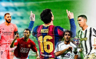 Messi lập thêm kỷ lục mới cùng Barca ở Champions League