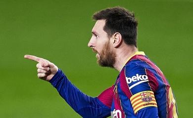 Messi đảo ngược tình thế cuộc đua vua phá lưới La Liga