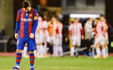 Xem Messi nhận thẻ đỏ với hành động gây sốc ở trận gặp Bilbao