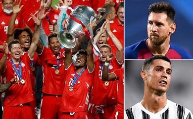 Messi và Ronaldo đều không thể tranh giải thưởng Champions League