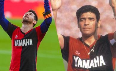 Lùm xùm giữa Nike và Adidas sau khi Messi tưởng nhớ Maradona