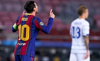 """Dynamo Kiev """"bực tức"""" vì Messi vắng mặt ở Champions League"""