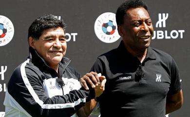"""Tiểu sử Pele: Vua bóng đá và """"cuộc chiến"""" không hồi kết với Maradona"""